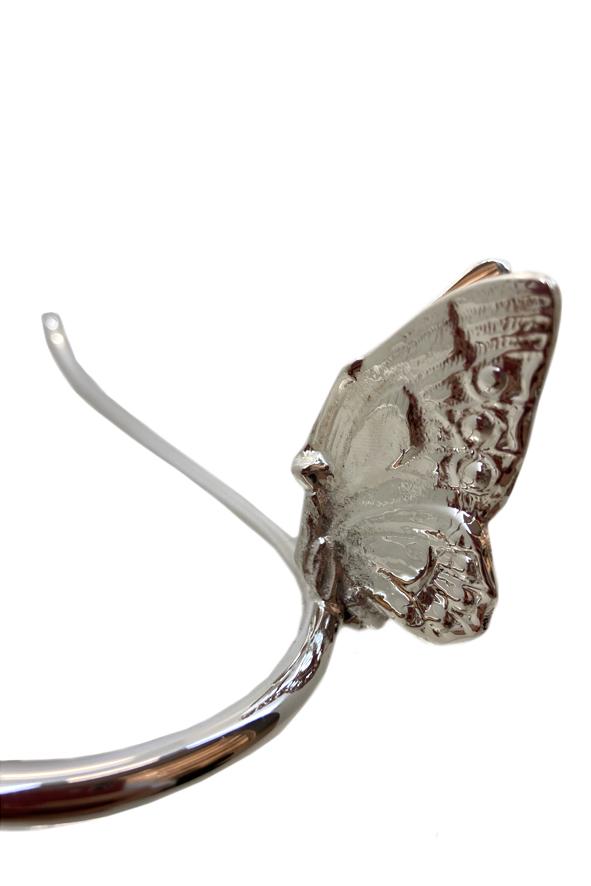 Porta toalha Butterfly Sheffield Plate