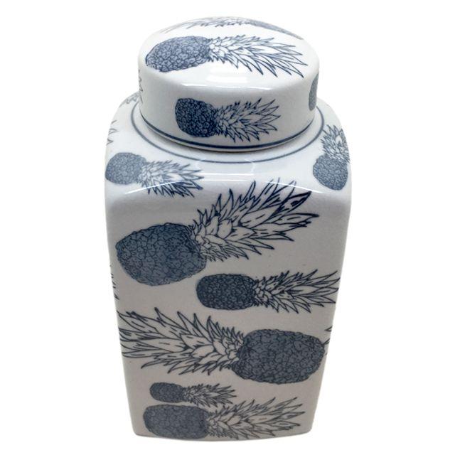 Pote De Cerâmica Abacaxi
