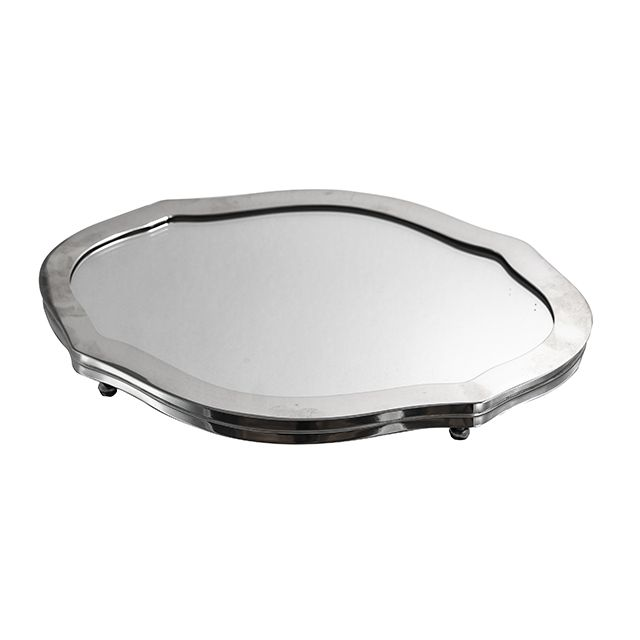 Présentoir Prateado Com Espelho