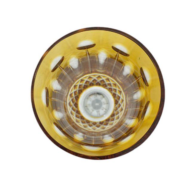Taça de Cristal Âmbar para Champagne