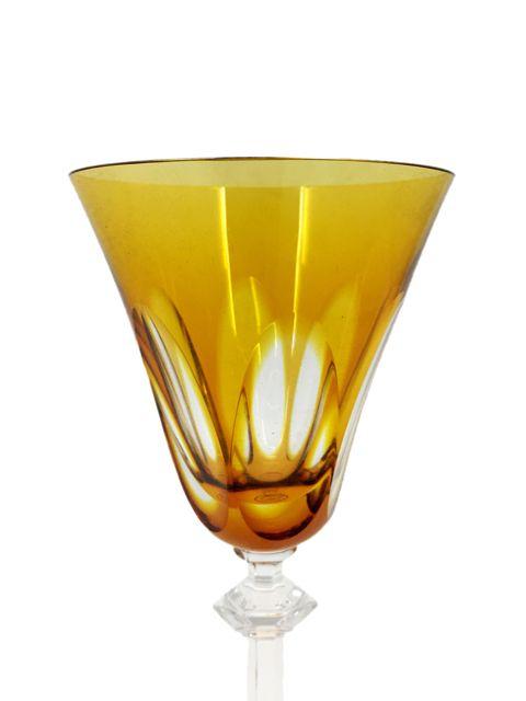 Taça de Cristal Âmbar para Vinho Tinto