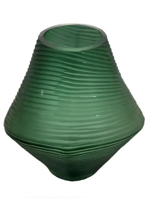 Vaso de Vidro Verde
