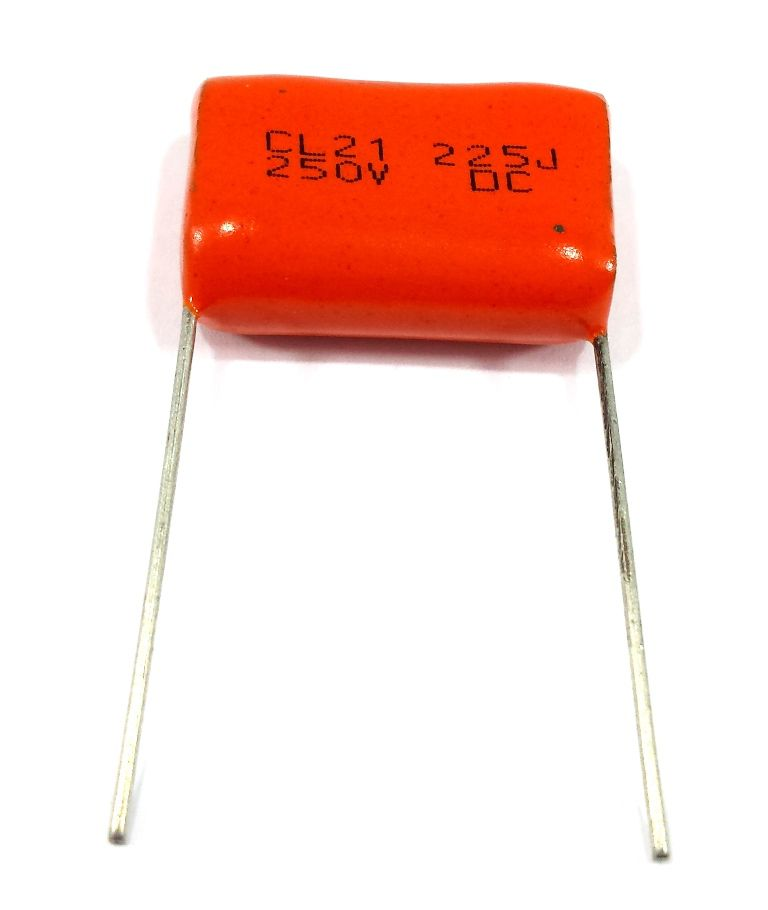 10 Capacitor Poliester 2m2 250v 225j 250v Para Tweeter