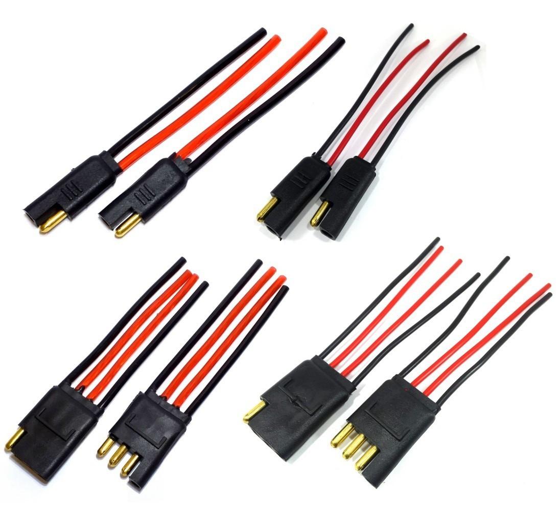 16 Conector 2 e 4 vias Fio de 1,5 mm e de 4,0mm - 4 de Cada
