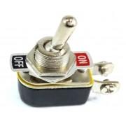 12 Chave Tic Tac Metal On/Off 2 Posições 2 Terminais KNH-1S