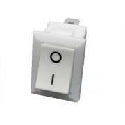 20x Chave Liga Desliga de Embutir Móveis Marcenaria Branca