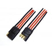 30 Conector 4 Vias com Fio 4,0 mm Chicote Plug Para Caixa