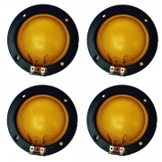 Combo 4 Unidades Reparo Completo D300 D305 Compatível D 300 D 305 Membrans Jarrão Corneta Fenólico 75W 8 Ohms