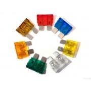 Fusível Reposição Lâmina 5 à 40 Amperes kit com 70 Fusíveis