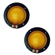 Kit Com 2 Unidades Reparo Completo D300 D305 Corneta Jarrão 8 Ohms Compatível Fenólico 75W D 300 D 305