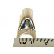 Terminal Olhal Compressão Tubular 35mm M10 - 10 Ponteiras
