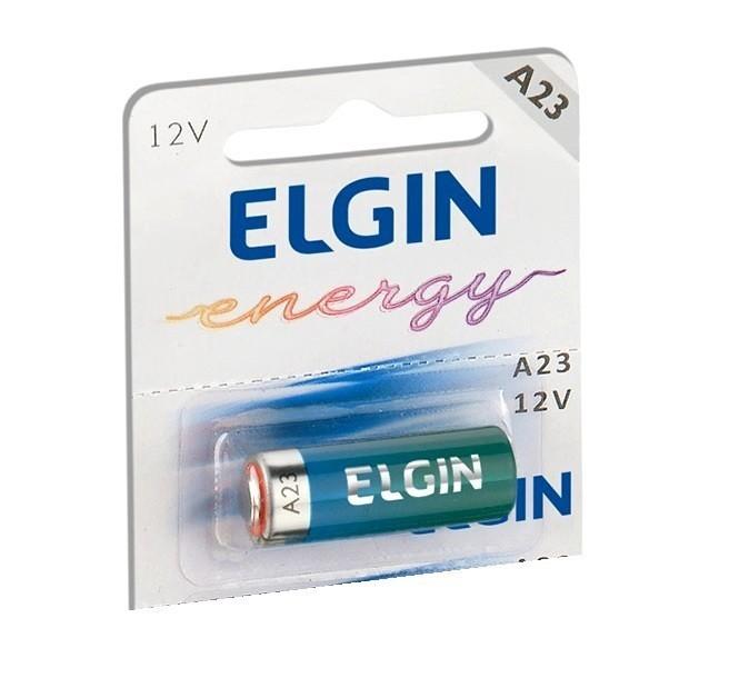 20x Bateria Elgin A23 12 Volts Pilha Alcalina 12V Alkalina
