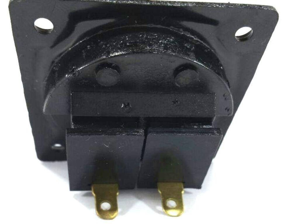 22 Conector Borne Quadrado para Caixa Acustica 1 Via 5,6 Cm