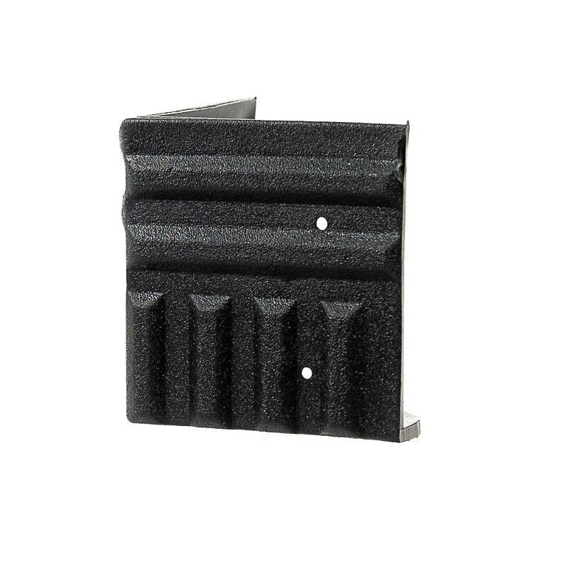 4 Cantoneiras Plasticas para Caixas Som Acústica Acabamento