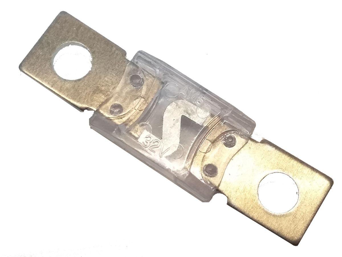 4 Porta Fusivel Mega Acrilico e 4 Fusíveis de 150 Amperes