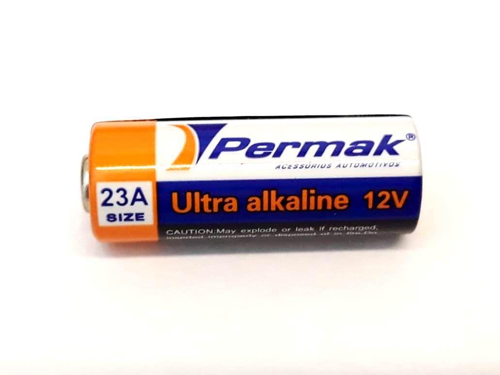 BATERIA A23 ALCALINA 12 VOLTS PILHA PARA CONTROLE ALARME 12V