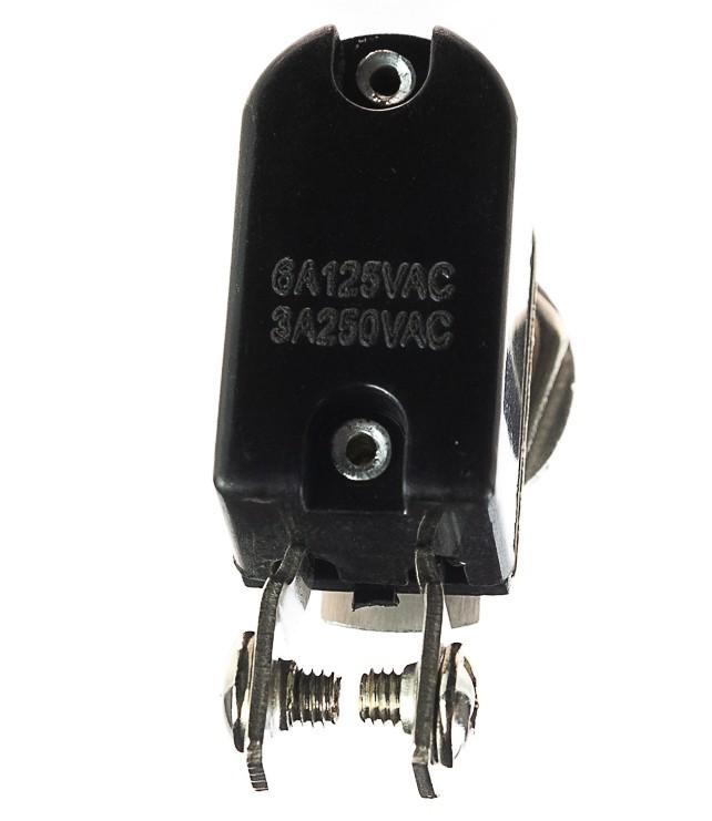 Botão Metal Caça 100 Unid KNH-1S 2T Chave Tik Tak 2 Posições