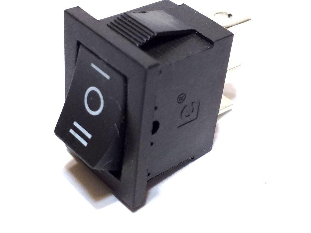 CHAVE TIC TAC KDC 3 POSIÇÕES ON/OFF/ON - 3P 3T - KCD1-2-103