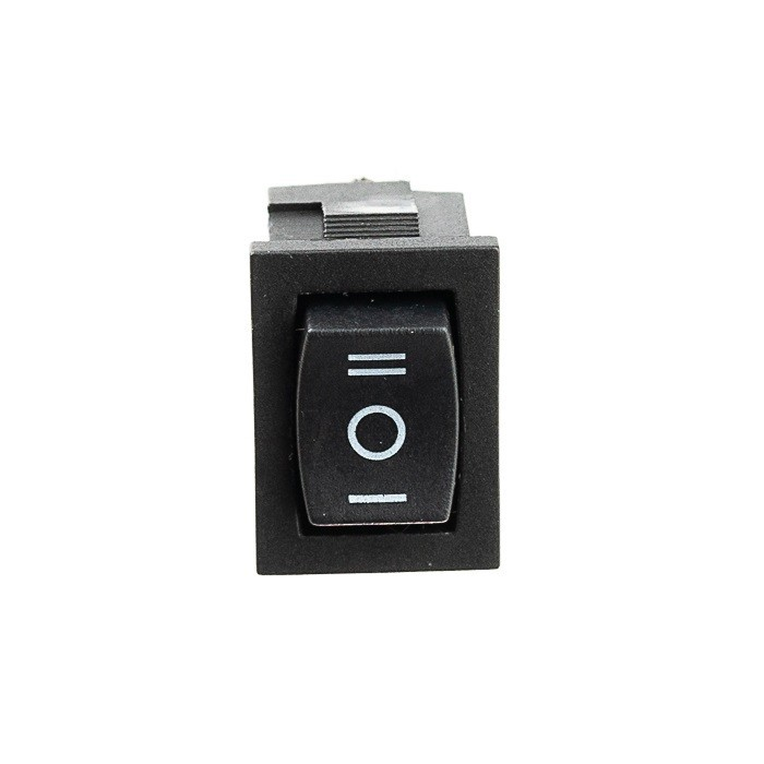 Chave Tic Tac KDC Preta On-Off-On 3T 3 Posições 10 Unidades