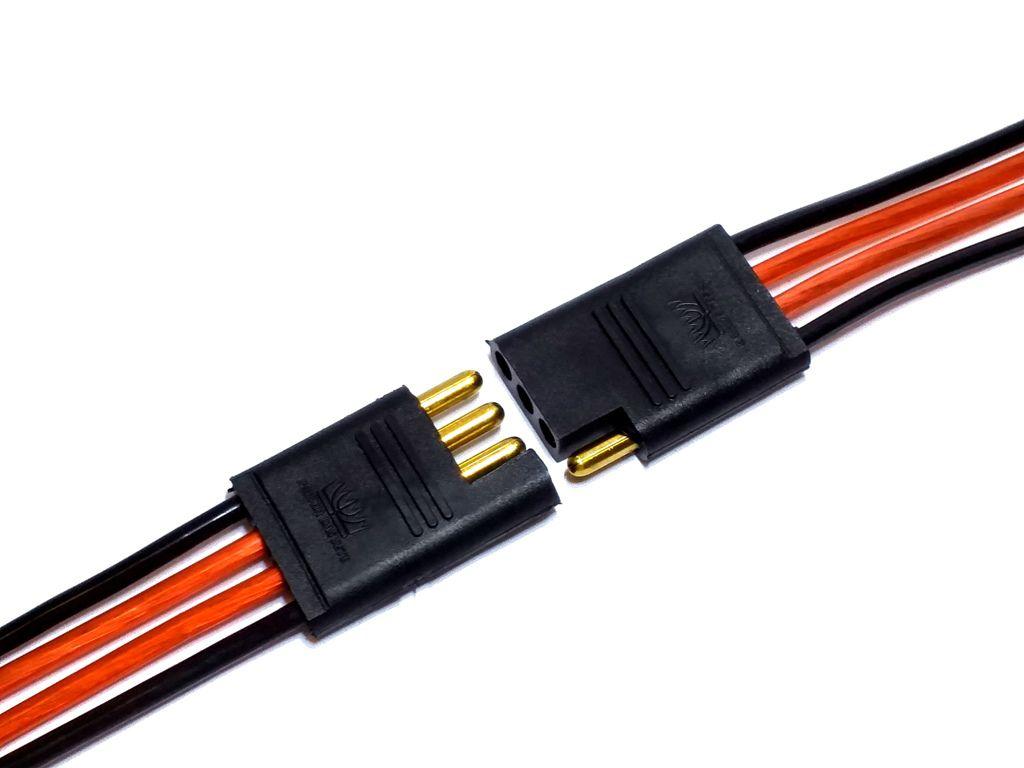 CONECTOR 4 VIAS C/ FIO 1,5 MM - CHICOTE PLUG P/ CAIXA