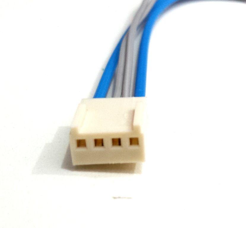 Kit 100x Chicote Modulo Amplificador 4 fios Falcon Stetsom