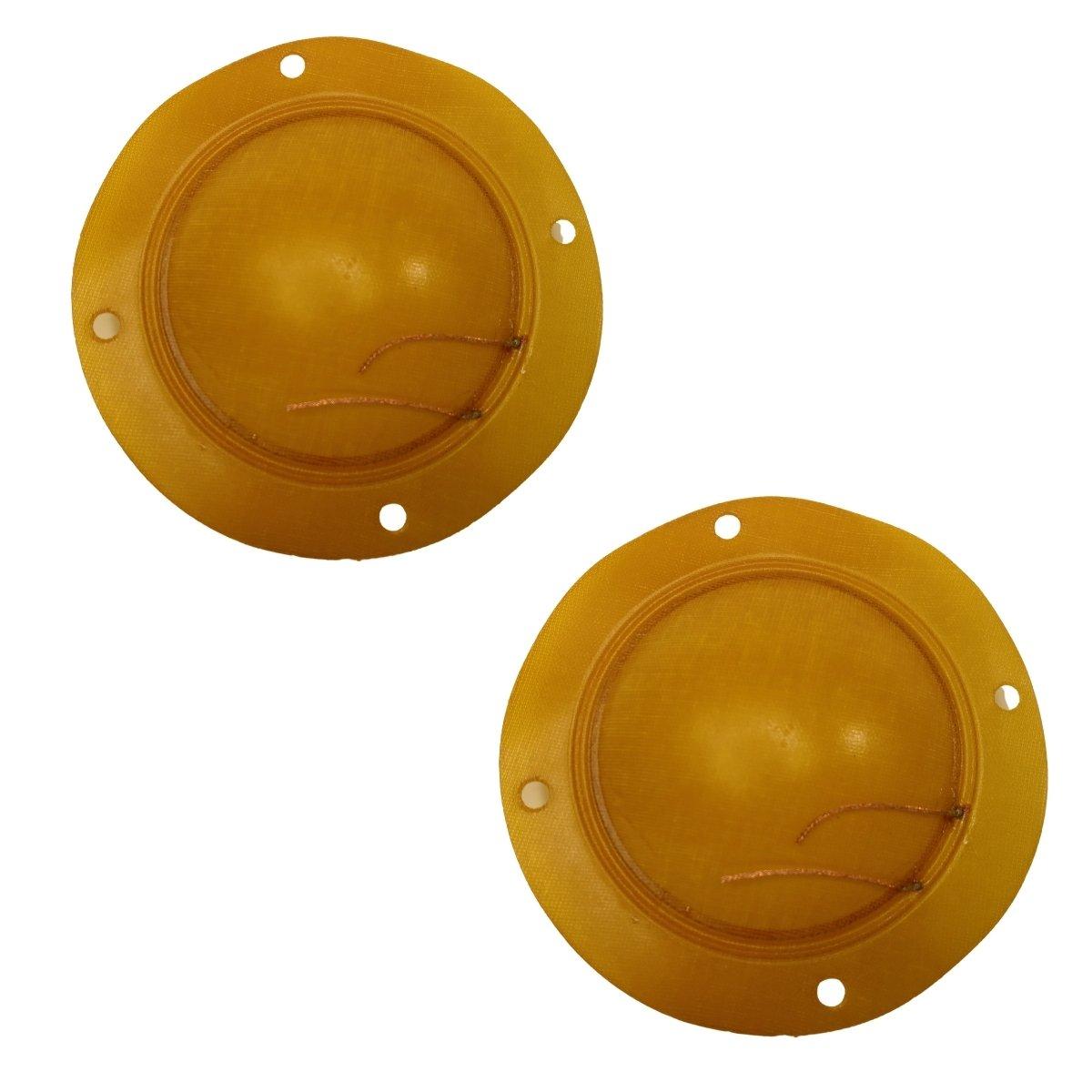 Kit 2 Unidades Membranas Parcial Reparo Driver D300 D305 8 Ohms Compatível Jarrão Corneta Fenólico 75W