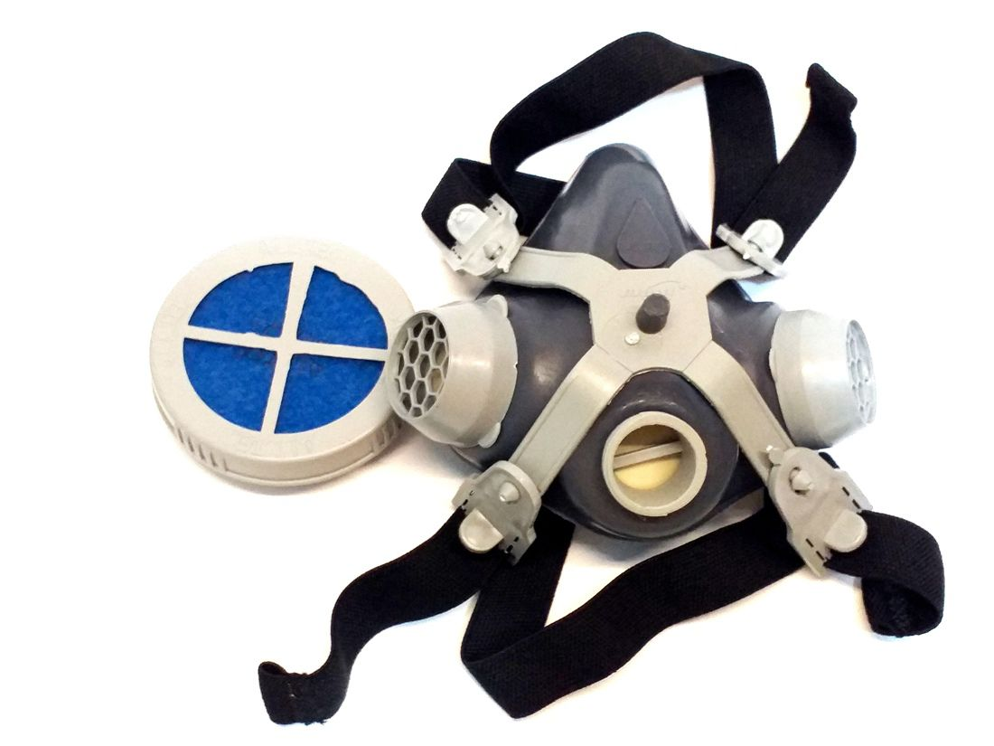 Kit Mascara Respirador Facial 1/4 Alltec PFF2 Com 11 Filtros