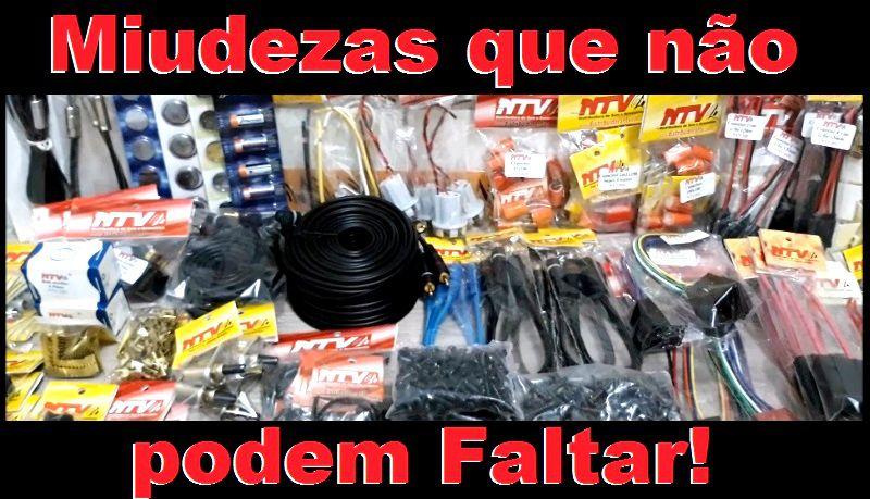 Kit Miudezas Para Lojas De Som Automotivo Montar Loja Som