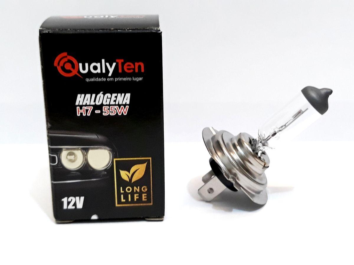 LAMPADA H7 HALOGENA 12 VOLTS 55W PX26D - 12V X 55W - 3000K