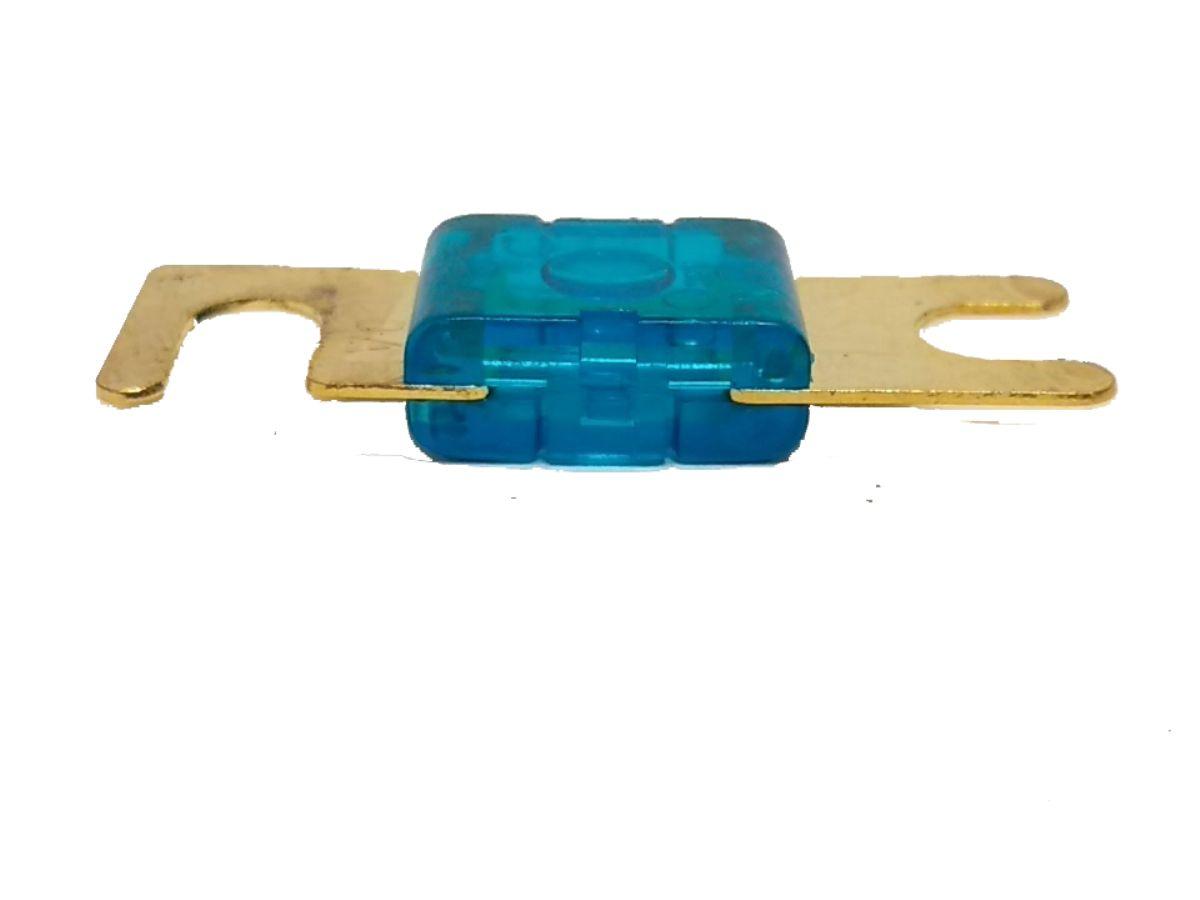 Porta Fusível Midi Pequeno e 3 Fusíveis Mini Faca 60 Amperes