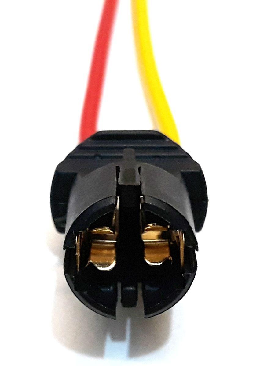 SOQUETE P/ LÂMPADA PINGÃO T10 - CONECTOR PLUG LANTERNA T10