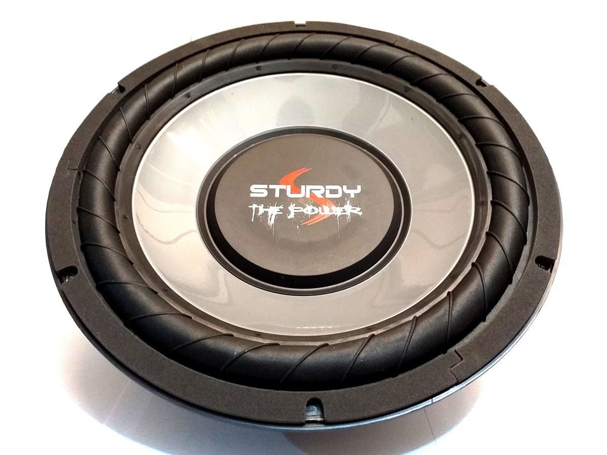 "SUBWOOFER 12"" STURDY 200W RMS BOBINA SIMP 4 OHMS STRONG BASS"