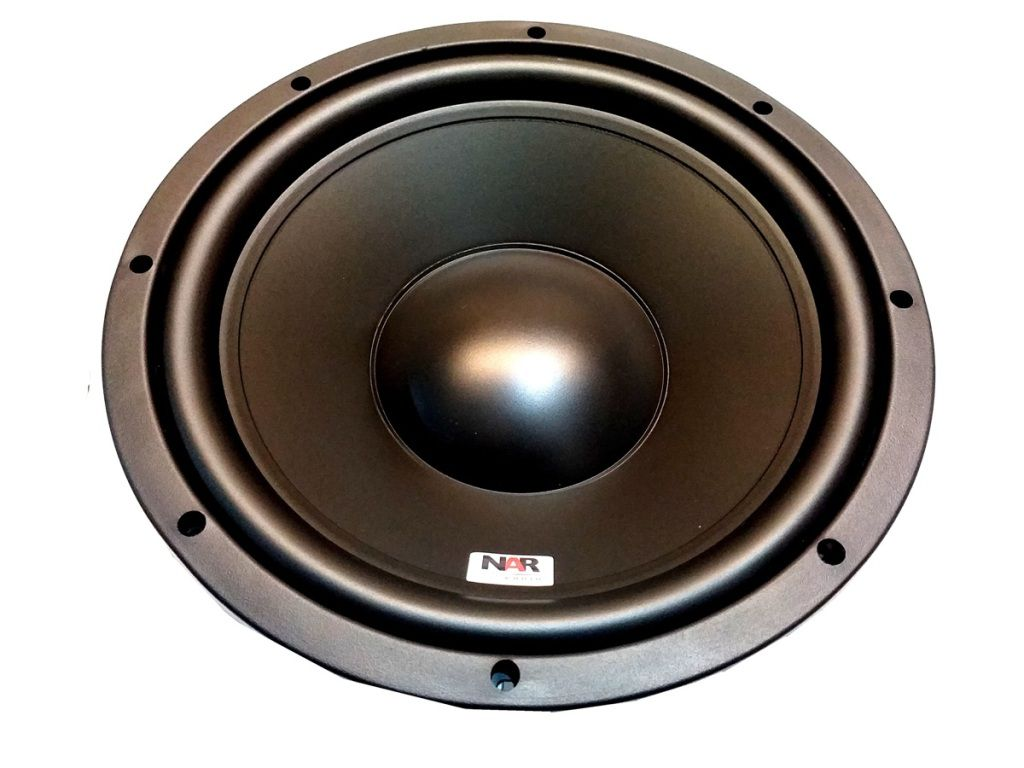 SUBWOOFER NAR 12 POL BOB SIMPLES 4 OHMS 250W RMS 1204-SW-2