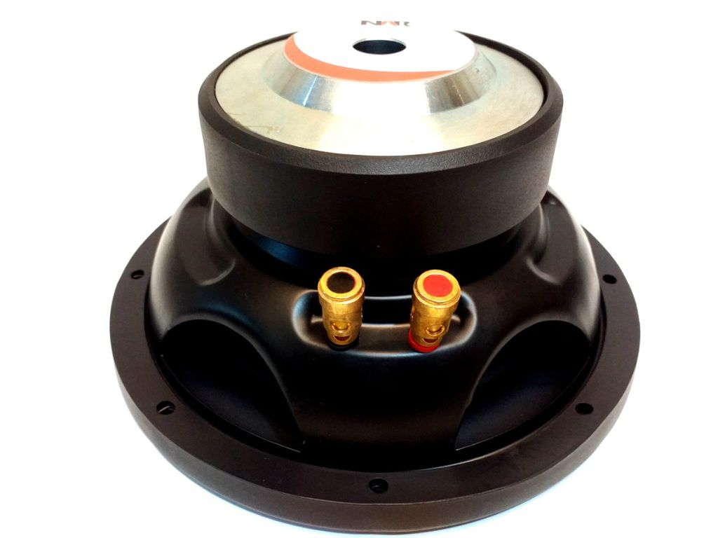 SUBWOOFER NAR 8 POL BOB SIMPLES 4 OHMS 200W RMS 0804-SW-2