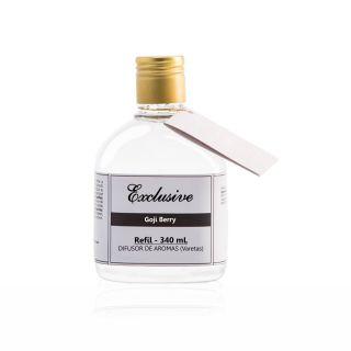 Refil Difusor de Aromas para Ambientes Exclusive  340ml - Fragrância Goji Berry