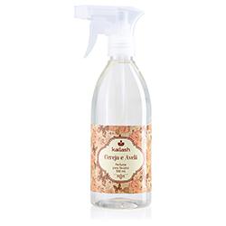 Água perfumada para Tecidos Cereja e Avelã 500ml