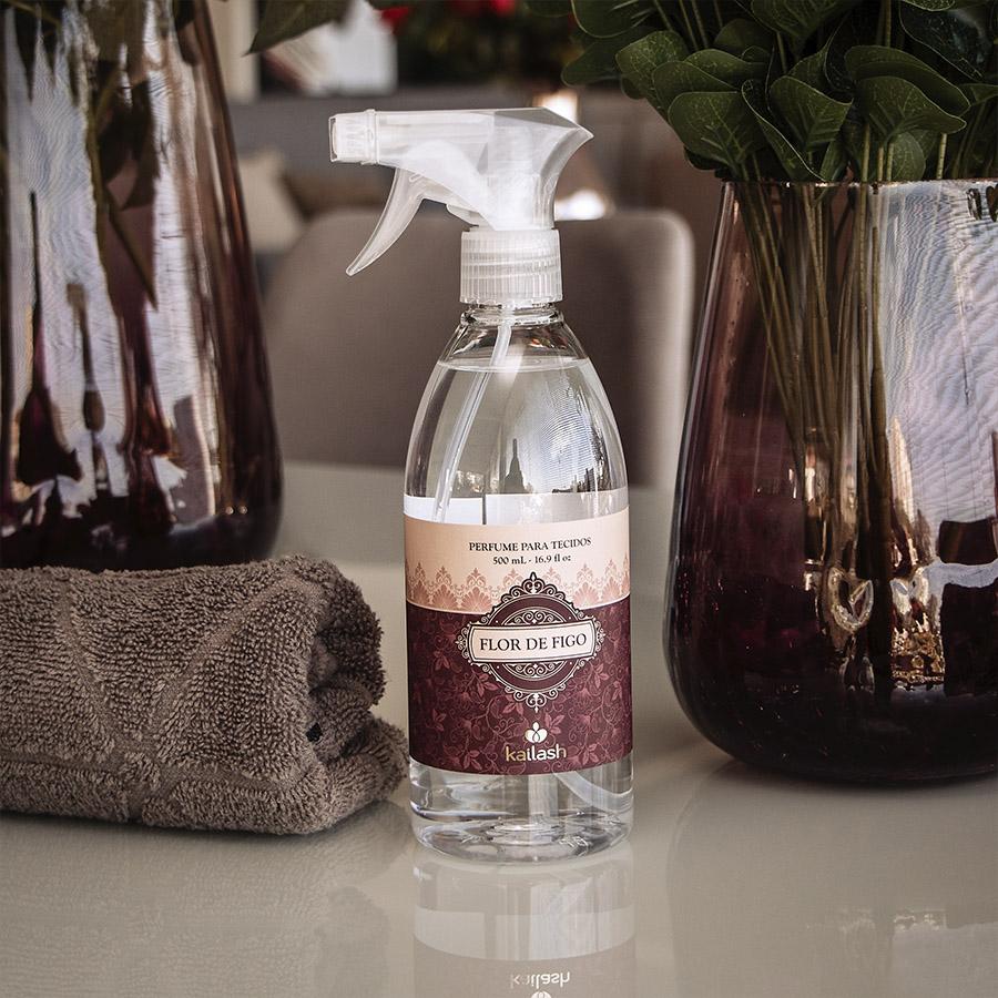 Água Perfumada para Tecidos Flor de Figo - 500mL