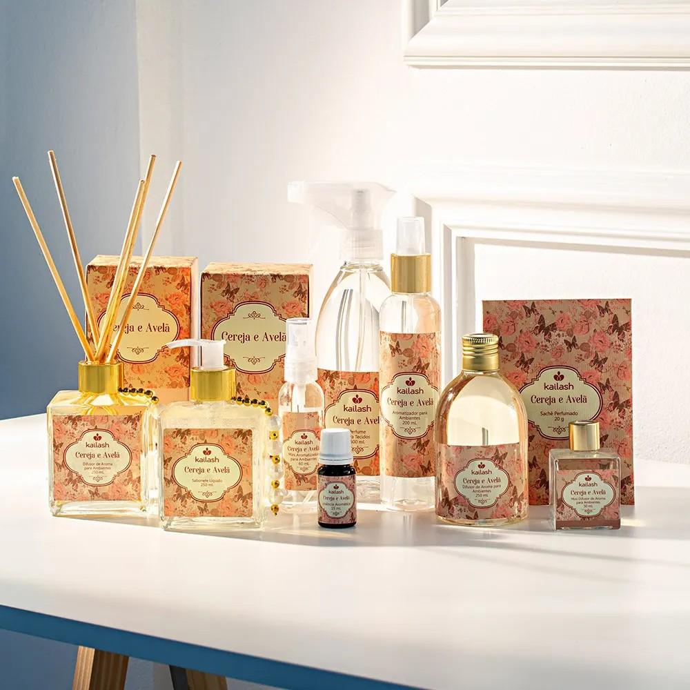 Difusor de Perfume para Ambientes Cereja e Avelã 250ml
