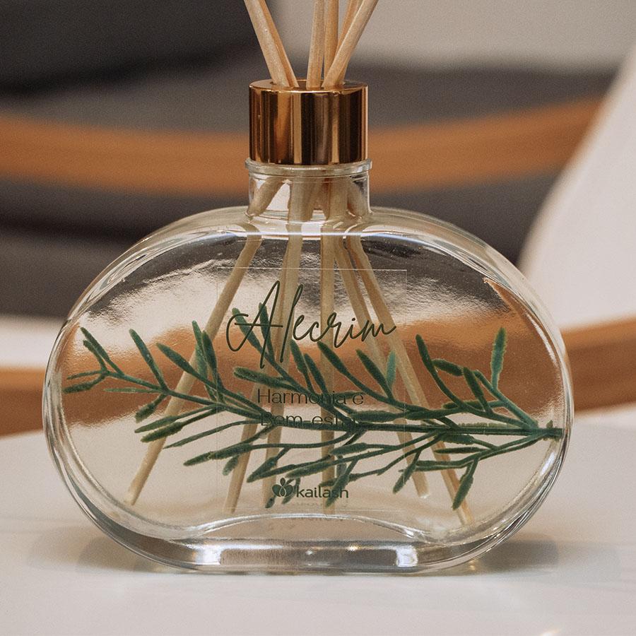 Difusor de perfume para ambientes Alecrim - Jardim Secreto- 300mL