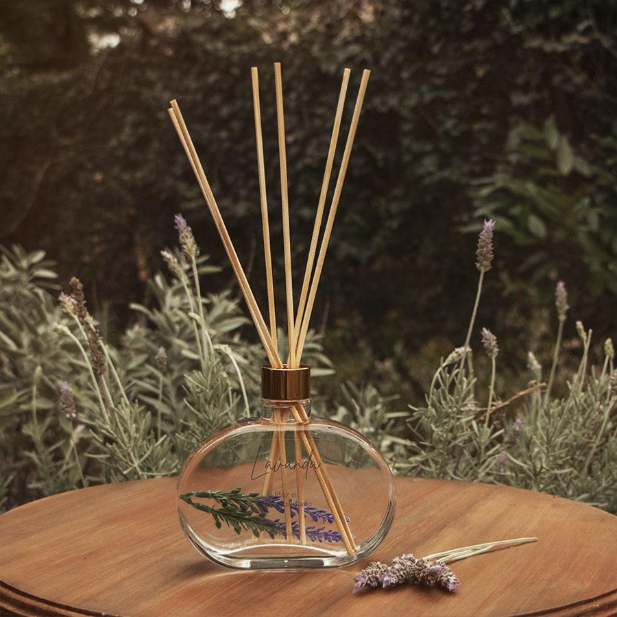 Difusor de perfume para ambientes Lavanda - Jardim Secreto- 300mL