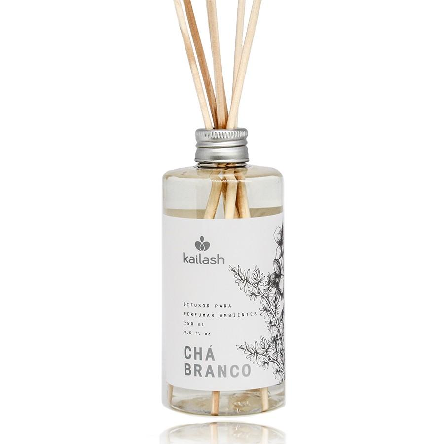Difusor Econômico de Perfume para Ambientes Chá Branco 250ml