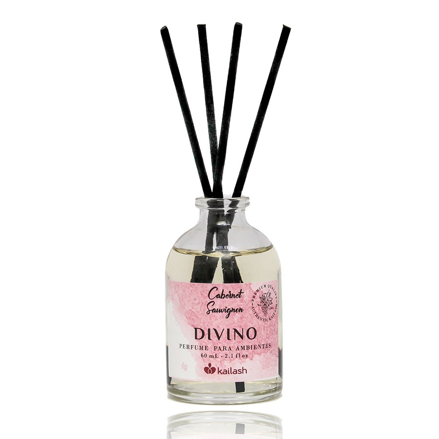 Mini Difusor de Perfume para Ambientes Divino Cabernet Sauvignon 60ml