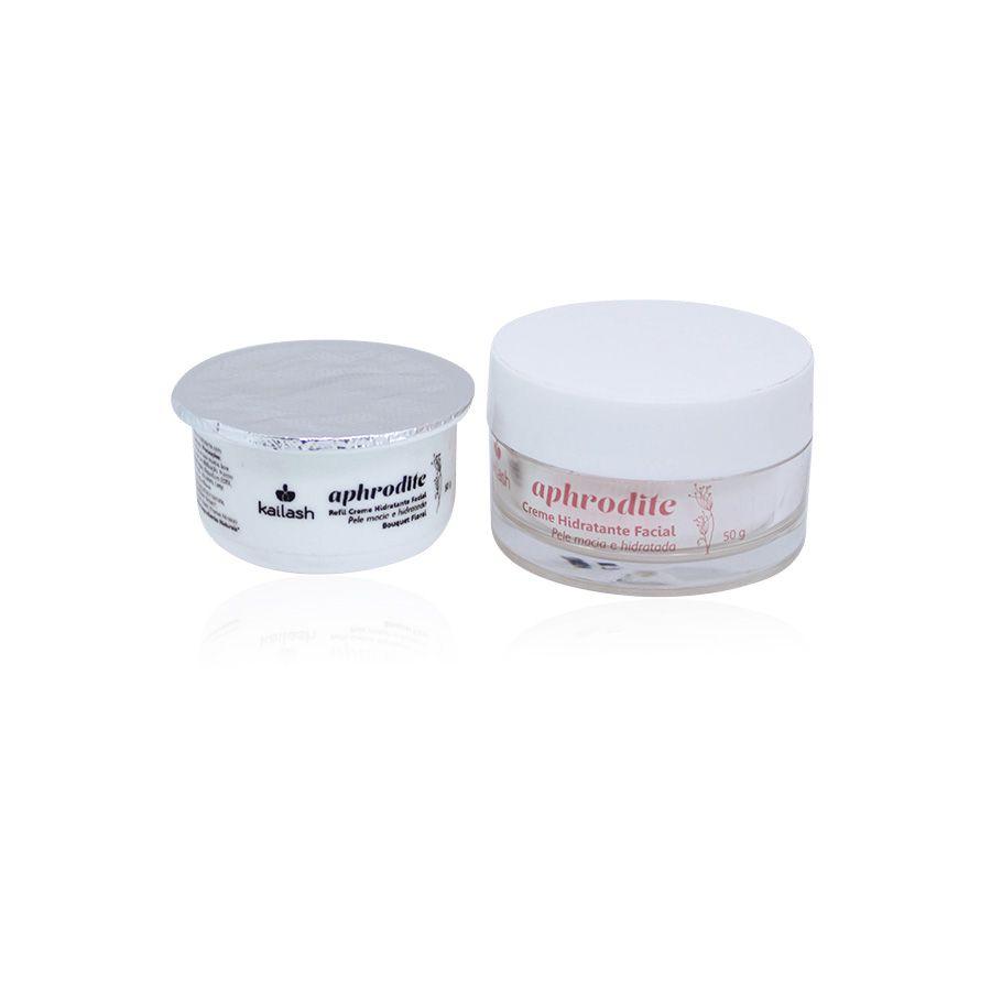 Refil do Creme Hidratante Facial  Aphrodite 50g