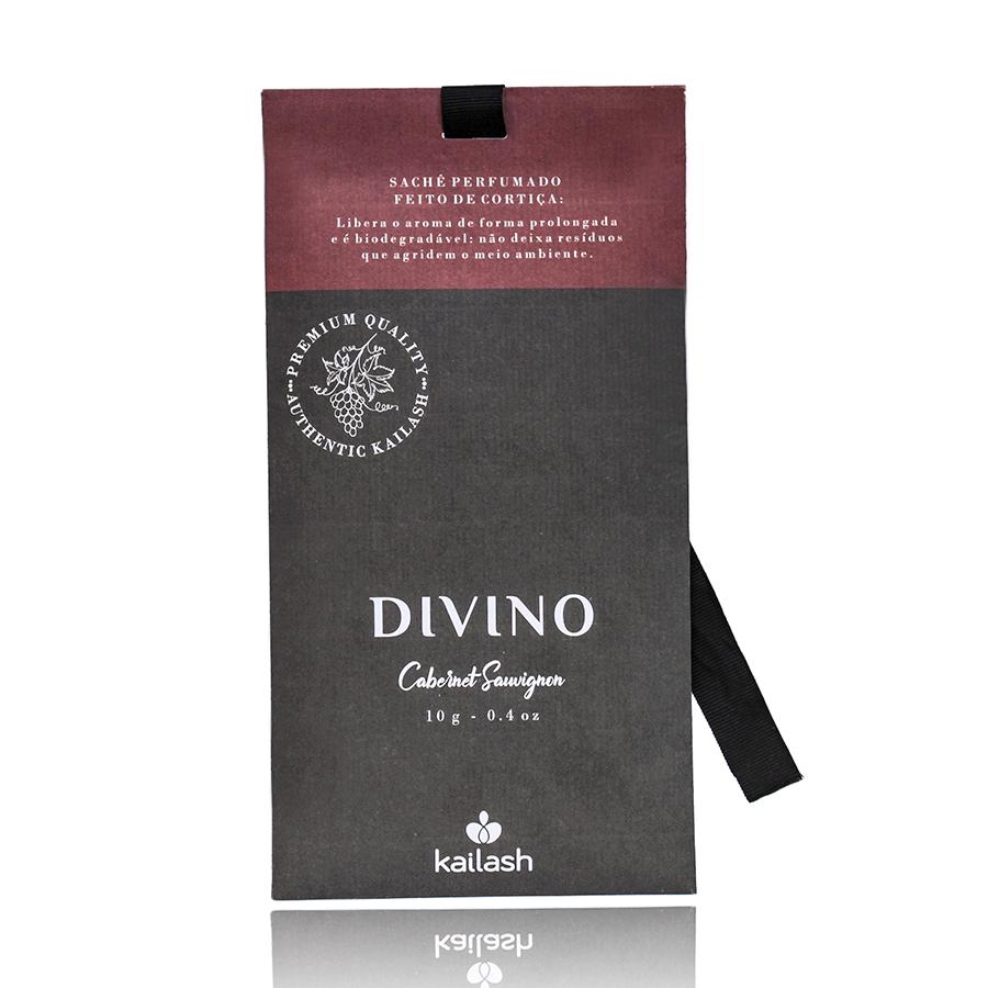 Sachê Aromático Divino Com Cortiça - Cabernet Sauvignon - 10g
