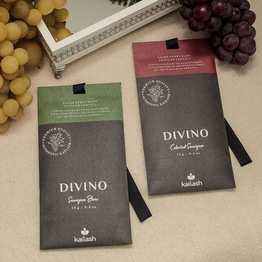Sachê Aromático Divino Com Cortiça - Sauvignon Blanc- 10g