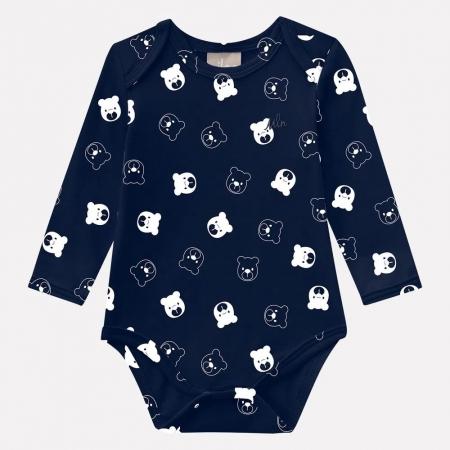 Body Bebê Masculino Cotton - MILON 10728