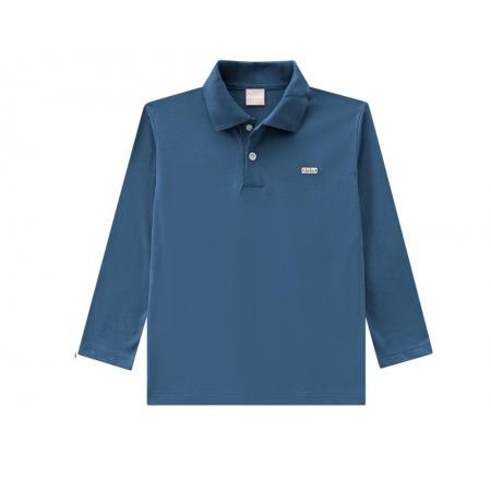 Camisa Polo Infantil Masculina Meia Malha - MILON 7568