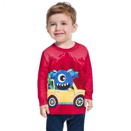 Camiseta Infantil Masculina  Meia Malha -  KYLY 207428