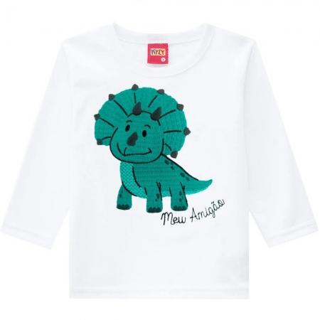 Camiseta Infantil Masculina Meia Malha - KYLY 207429