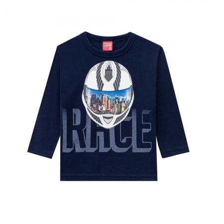 Camiseta Infantil Masculina Meia Malha - KYLY 207451